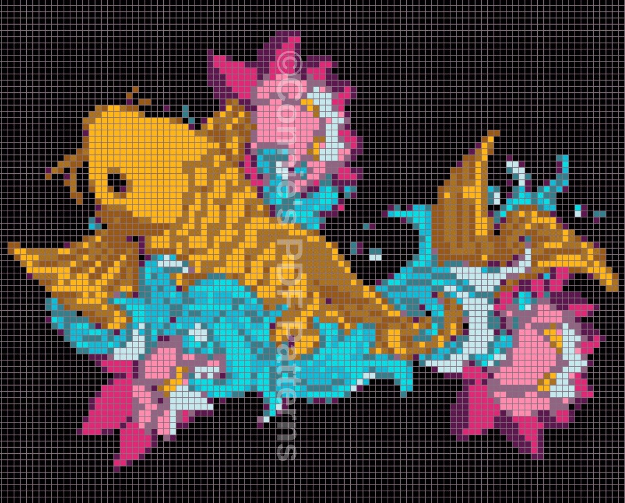 Koi Fish Pattern   Connie\'s Crochet Gifts
