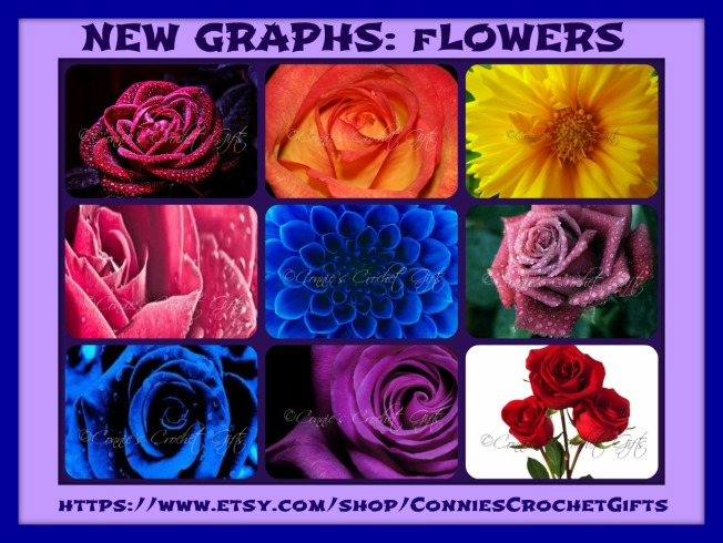 Graphs Flowers Collage